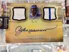 SO SICK 2017 ANDRE DAWSON Topps Dynasty SEALED On-Card Auto & Game-Used Patch 5