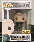 Funko Pop Draco Malfoy Hot Topic Exclusive #19 Quidditch Harry Potter