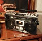 SANYO M9994 BOOMBOX CLEAN AND SERVICED IN WORKING CONDITION huge ghetto blaster