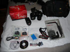 Canon EOS Digital Rebel XTi EOS 400D 101MP Digital SLR Camera Black extras