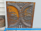 Antique Tin Ceiling Tile Panel Approx. 24