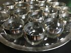"""""""tray +20 Roly Poly Glasses MCM bar ware"""
