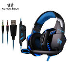 Gaming Earphone Headset Wired Gamer Computer PC Laptop Accessories Microphone