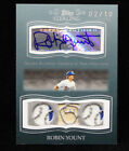 2008 Topps Sterling Brewers HOF Robin Yount 3 piece relic auto #2 10! W@W!