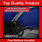 VW T6 2015+ TRANSPORTER  CARAVELLE FRONT CAB PRIVACY BLIND BLUE CURTAIN 3PC SET