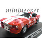 COLLECTIBLES 162 1967 SHELBY MUSTANG GT 500 E ELEANOR 1 18 DIECAST CAR RED