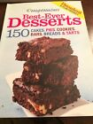 Weight Watchers Cookbook 150 Best Ever Desserts Has Point Values 2007 Cakes Pies