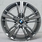 4 Wheels 18 inch Gunmetal Rims fits 5x120 BMW 3 SERIES SEDAN E90 2006 2011