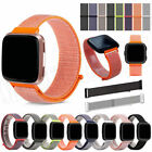 Replacement Woven Nylon Loop Bracelet Sport Watch Band Strap For Fitbit Versa 2