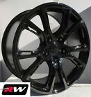 18 inch RW Wheels for Jeep Grand Cherokee Spider Monkey 18x8 Gloss Black Rims