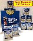 PANINI 2018 FIFA WORLD CUP, PANINI 250 STICKERS, FACTORY SEALED BOX OF 50 PACKS