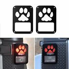 A Pair Tail lamp Tail light Cover Dog Paw Protector Jeep Wrangler JK 2007 2017