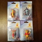 Set Of 4 Disney Winnie The Pooh  Friends Cake Toppers Figures