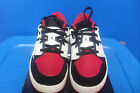 Air Jordan Nu Retro 1 Low GS 55Y Black White Red Sneaker AJ00019