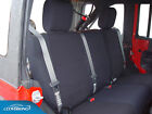 2015 Jeep Wrangler Jk Genuine Neoprene Black Seat Covers By Coverking