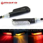 Led Turn Signal Lights Indicators Blinker Lamps For 10mm Hole Fairing Motorcycle