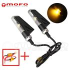 2x Led Turn Signals Lights Blinker Indicators Fits 8mm Hole Fairing Motorcycle