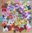 Small Butterfly Butterflies Punchies shapes Solid Embossed from Cardstock Paper