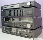 PANASONIC COMPONENT STEREO SYSTEM 4pc VINTAGE 1983 AMPLIFIER TUNER EQ CASSETTE