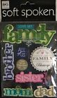 Love My Family Sister Brother Mom Dad 3 D Scrapbook Embellishment Stickers NIP