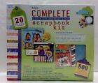 NEW 800 Peices Scrapbook Kit Westrim Crafts The Complete 12 x 12 Postbound Album