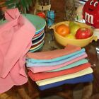 Fiesta Napkins - 4 napkins for Fiestaware Napkin Ring - 2 Periwinkle and 2 Rose