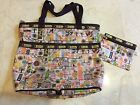 tokidoki for LeSportsac Weekend Beach Bag and Purse Exc Condition