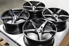 17x75 Black Polish Wheels Rims 5x120 Fit BMW 3 Series 318 320 323 325 328 340