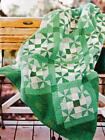 GREENY Quilt Pattern Easy Strip Piecing from Magazine