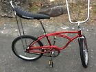 1977 Schwinn Stingray Bicycle Red Muscle Bike Made Chicago DN547146