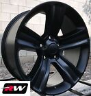 20 inch 20 x9 Wheels for Dodge Ram 1500 Satin Black 2013 2017 Ram 1500 Rims