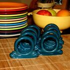 Excellent 1st Quality Fiesta Napkin Rings - 8 Juniper Green Ring