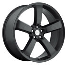 REPLICA BY VOXX Dodge Charger Rim 20X9 5X115 Offset 20 Matte Black Qty of 4