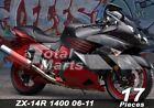 For Fairing Kawasaki Ninja ZX14 ZX1400 ZX14R ZZR1400 2006-2011 Injection fc1025