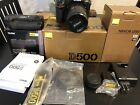 Nikon d500 With 18 200mm VR Gii ED DX and 2 battery grips and much more