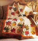 FALLING LEAVES Quilt Pattern Paper Foundation Piecing 2 Sizes from Magazine