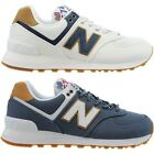 New Balance 574 Sea Escape women low top sneakers white blue casual shoes NEU