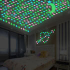 100X Color Glow In The Dark Stars Luminous Stickers Wall Decal Kids Baby Bedroom