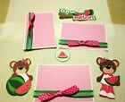 One In A Melon Boy and Girl 3 a4 Mat SetGreat for pages cards