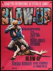 BLOW UP French 46x62 ri poster Michelangelo Antonioni fashion Film Art Gallery