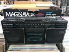 Magnavox D8060 AM/FM Cassette Stereo Boombox Radio TESTED WORKING W BOX MINT
