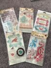 Prima Marketing Clear Stamps LOT
