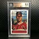 2001 Albert Pujols Topps Gallery Rookie RC Cardinals Angels ALL BGS 9.5 GEM MINT