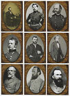 2013 Cult Stuff Civil War Chronicles 9 Card Famous Influential People Chase Set