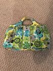 Vera Bradly Purse Light Green and Yellow free Shipping!!!