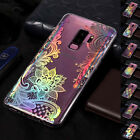 For Samsung Galaxy S9+ Note 9 S8 Slim Soft TPU Pattern Silicone Back Case Cover