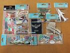Italy scrapbook sticker collection 8 packages mostly by Jolees Boutique