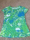 Excellent condition Lilly Pulitzer Roar Of The Jungle Michelle Tshirt