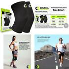 Knee Brace Compression Sleeve (1 Pair) - BEST Knee Support Braces for Meniscus