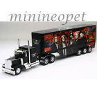 NEW RAY SS 12533 PETERBILT 379 SEMI TRAILER TRUCK 1 32 AEROSMITH BLACK